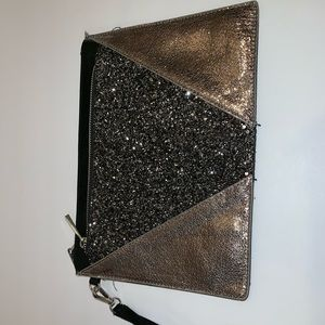 NEW Express Clutch Sparkly